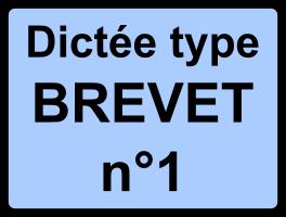 Dictée type Brevet n°1 - Maupassant, la Parure, 1884
