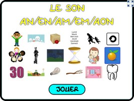 Orthoflash : le son an/am/en/em/aon