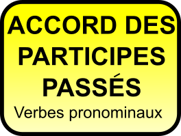 Accord des participes passés des verbes pronominaux