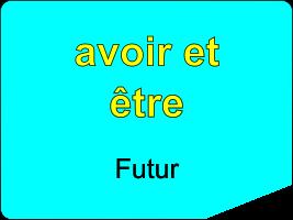 Conjuguer les verbes être et avoir au futur simple