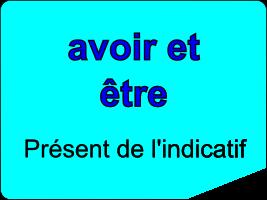 Conjuguer les verbes être et avoir au présent de l'indicatif