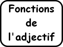 Trouve la fonction des adjectifs soulignés dans les phrases suivantes.