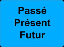 Le passé, le présent et le futur