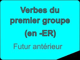 Conjuguer les verbes du premier groupe au futur antérieur
