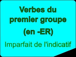 Conjuguer les verbes du premier groupe à l'imparfait de l'indicatif