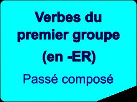 Conjuguer les verbes du premier groupe au passé composé