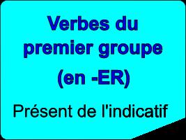 Conjuguer les verbes du premier groupe au présent de l'indicatif