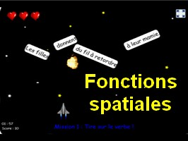 Fonctions spatiales