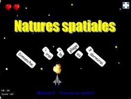 Natures spatiales