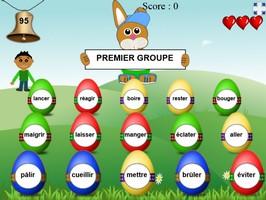 La chasse aux œufs (groupes de verbes)