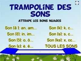 Le trampoline des sons